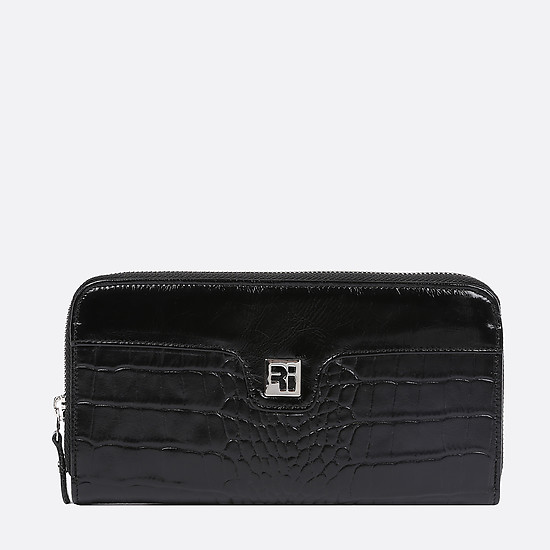 Кошелек Richet Ri-049P croc black