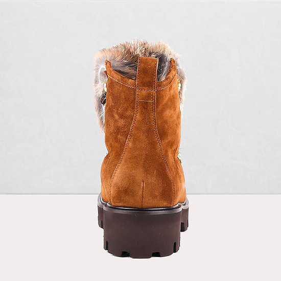 Ботинки Baldinini T0307 brown chamois