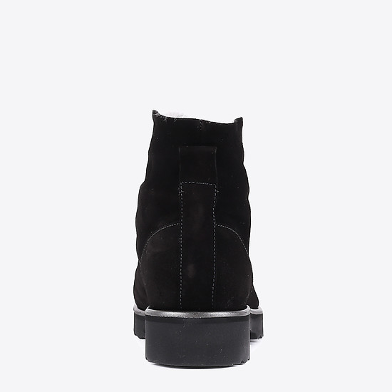 Ботинки Pertini T1679 black chamois