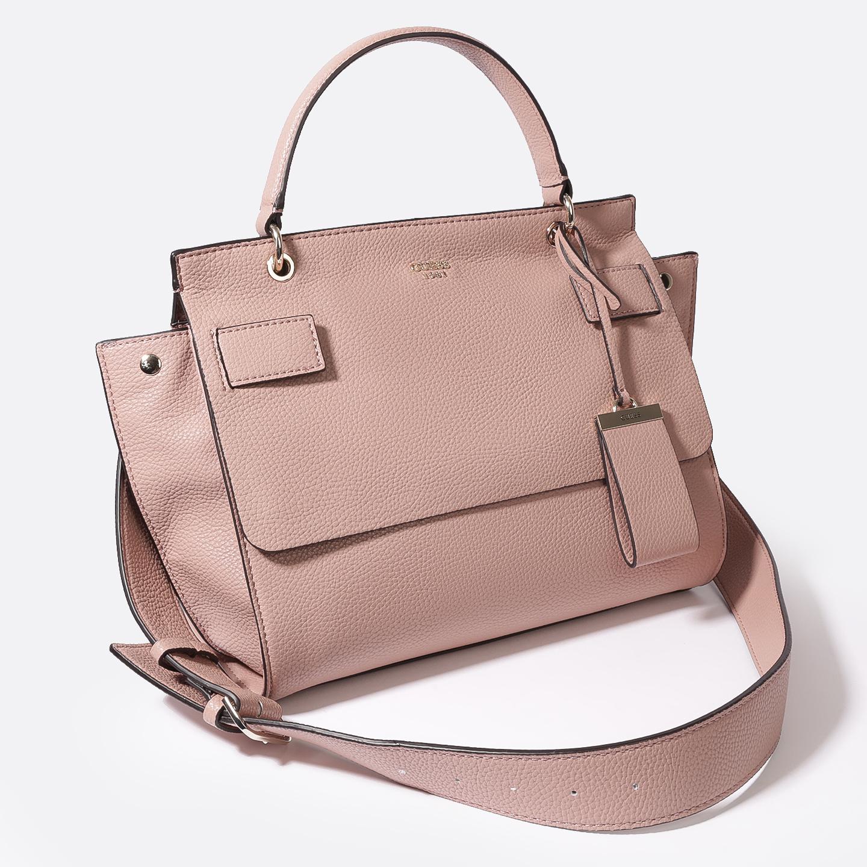 ad5abe0c3ecc Пудровая сумка Shailene на одной ручке из зернистой экокожи – Китай ...