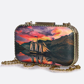 Женская сумка Bronipatisson clutch 167 sea sunset