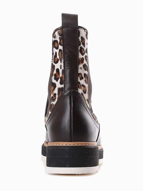 Ботинки Corsani Firenze 100726V brown leopard