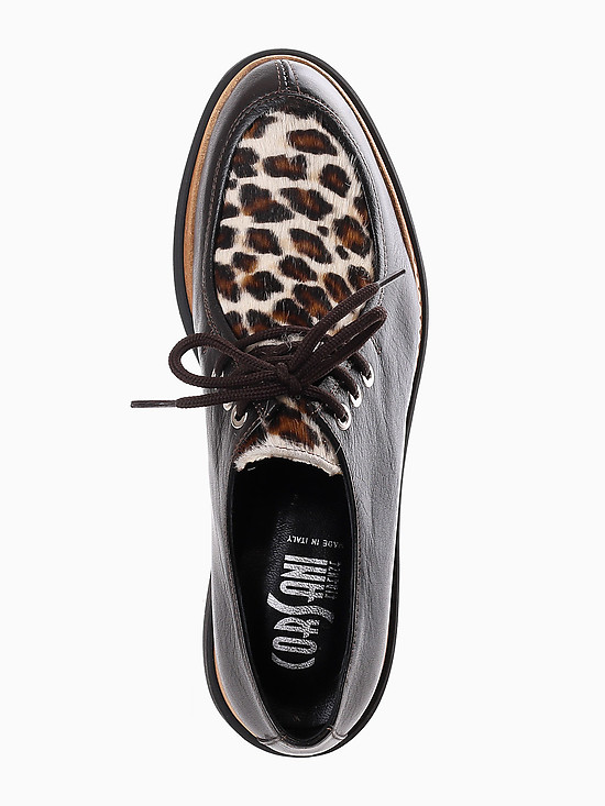 Туфли Корсани Фирензе 100731V brown leopard