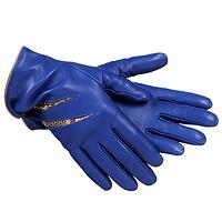 Синие перчатки