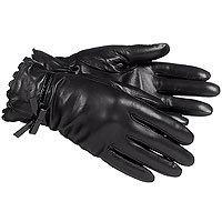 Красные, коричневые, черные перчатки